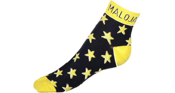 Maloja JoushM. Socks Women yellow/blue